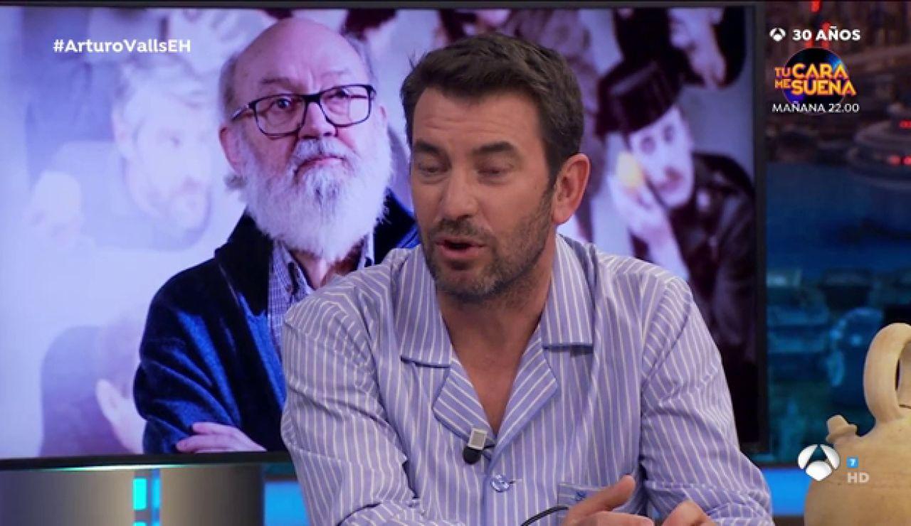 Las tiernas palabras de Arturo Valls tras el fallecimiento del José Luis Cuerda