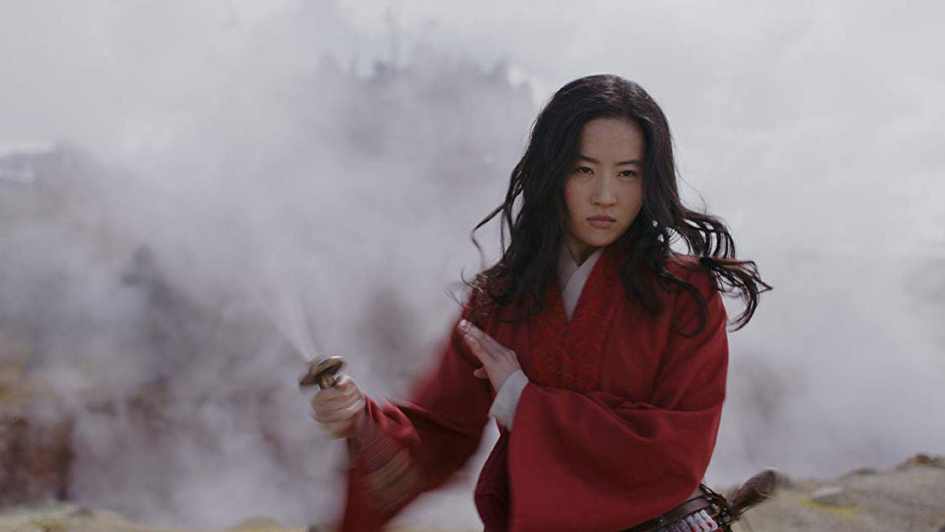 Liu Yifei en 'Mulán'