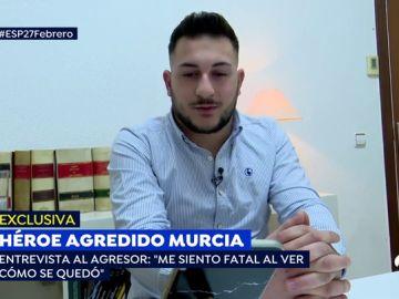 """El agresor del rapero de Murcia: """"No puedo ni dormir ni comer, estoy muy arrepentido"""""""
