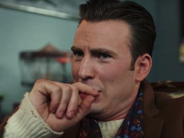 Chris Evans en 'Puñales por la espalda'