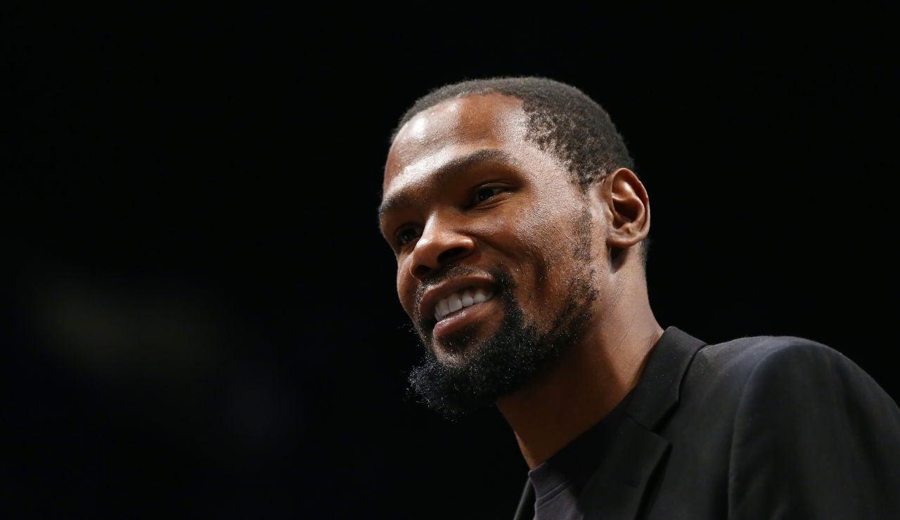 Kevin Durant jugador de la NBA