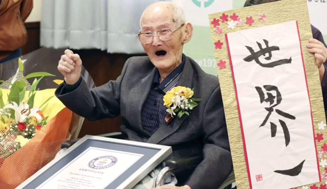 Muere el hombre más longevo del mundo a los 112 años