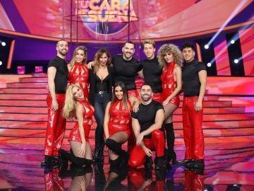 El espectacular baile al ritmo de 'Sorpresa, sorpresa', 'Furor' y 'El gran juego de la oca' para celebrar el 30 aniversario de Antena 3