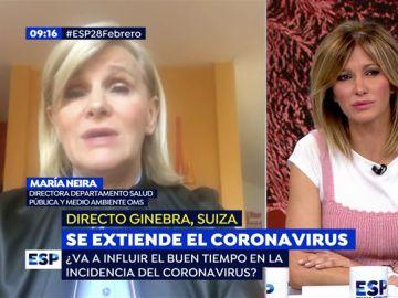 Coronavirus en España.