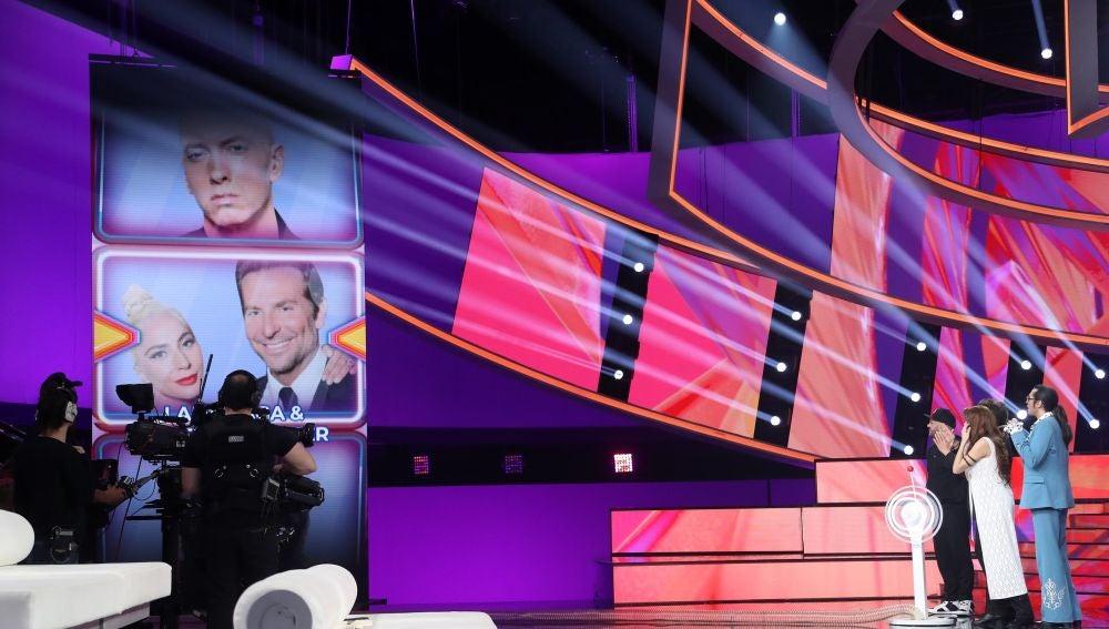 Pablo López, Lady Gaga y Bradley Cooper, entre las imitaciones de la novena gala de 'Tu cara me suena'