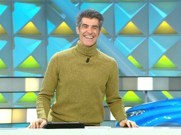 La encerrona de Jorge Fernández a un chico del público de 'La ruleta de la suerte'