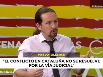 """El Gobierno """"comparte"""" las críticas de Pablo Iglesias a los tribunales españoles por las sentencias del 'procés'"""