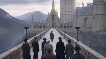 Team Dumbledore al final de 'Animales Fantásticos 2'