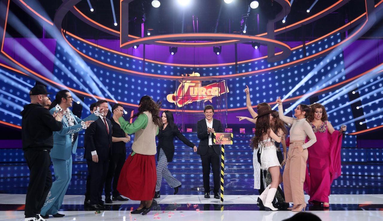 'Tu cara me suena' versiona 'Furor' con Manel Fuentes, los concursantes y el jurado