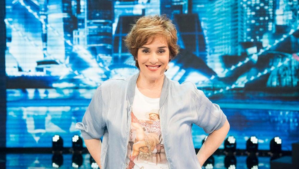 Anabel Alonso se presenta en 'Me resbala'