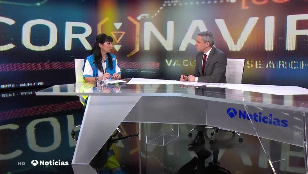Soledad Martín, subdirectora médico del Summa 112, sobre el coronavirus