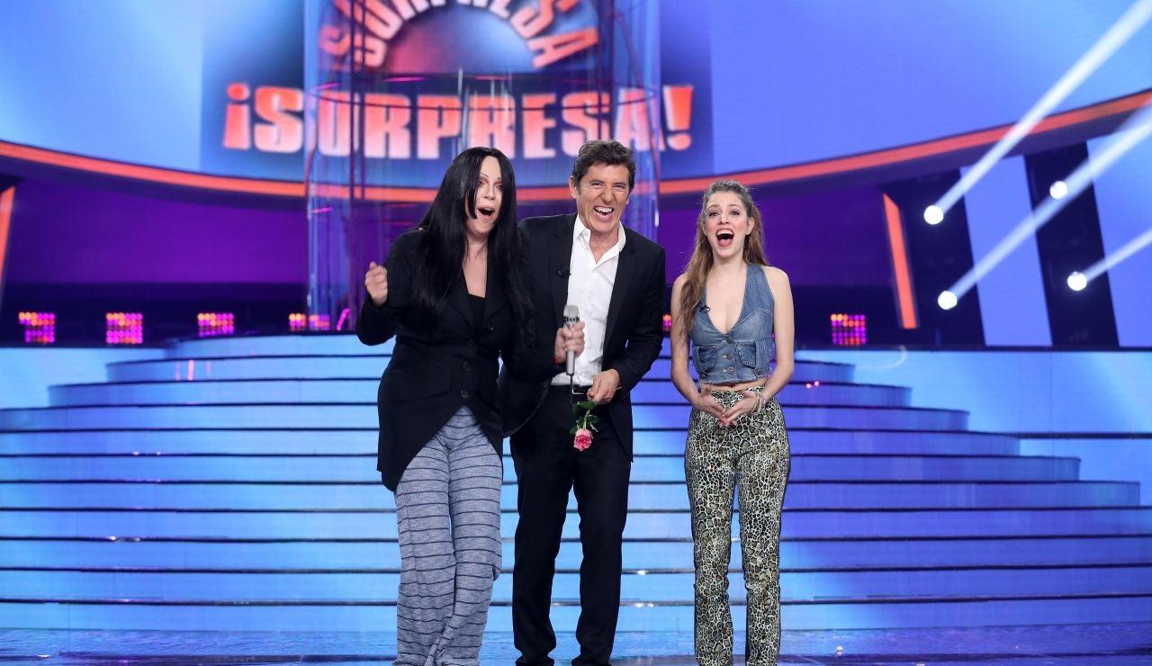Los Javis se comprometen a actuar en 'Tu cara me suena' tras sorprender a Nerea Rodríguez y Belinda Washington