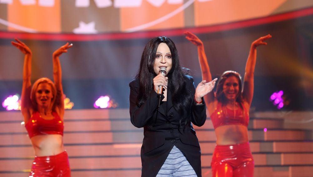 Belinda Washington, una auténtica diosa del pop como Cher en 'Shoop shoop song'