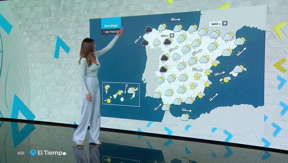 Borrasca Jorge: el viento y el oleaje mantendrán a nueve comunidades en riesgo este domingo