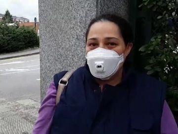 Primeras declaraciones de familiares de los ingresados por posible coronavirus en el hospital de Txagorritxu