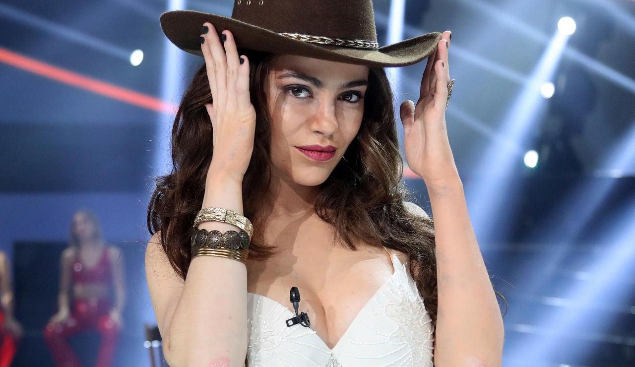 María Isabel caracterizada de 'Pasión de Gavilanes' en 'Tu cara me suena'