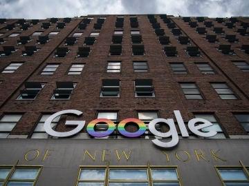 Fachada de la sede de Google en Nueva York