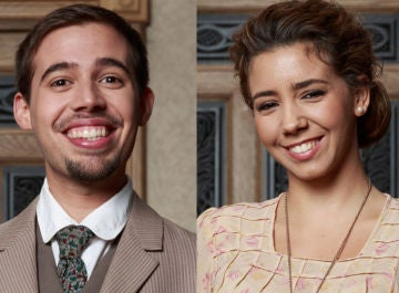 Selu Nieto y Sandra Cervera