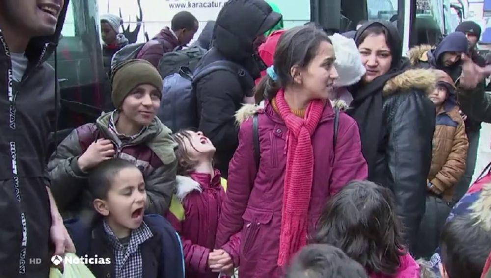 El gobierno turco asegura que 76.000 sirios han cruzado ya a suelo europeo