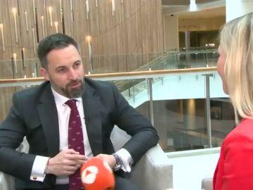 """Santiago Abascal, en su visita a Washington: """"En Estados Unidos preocupa que Iglesias esté en el CNI"""""""