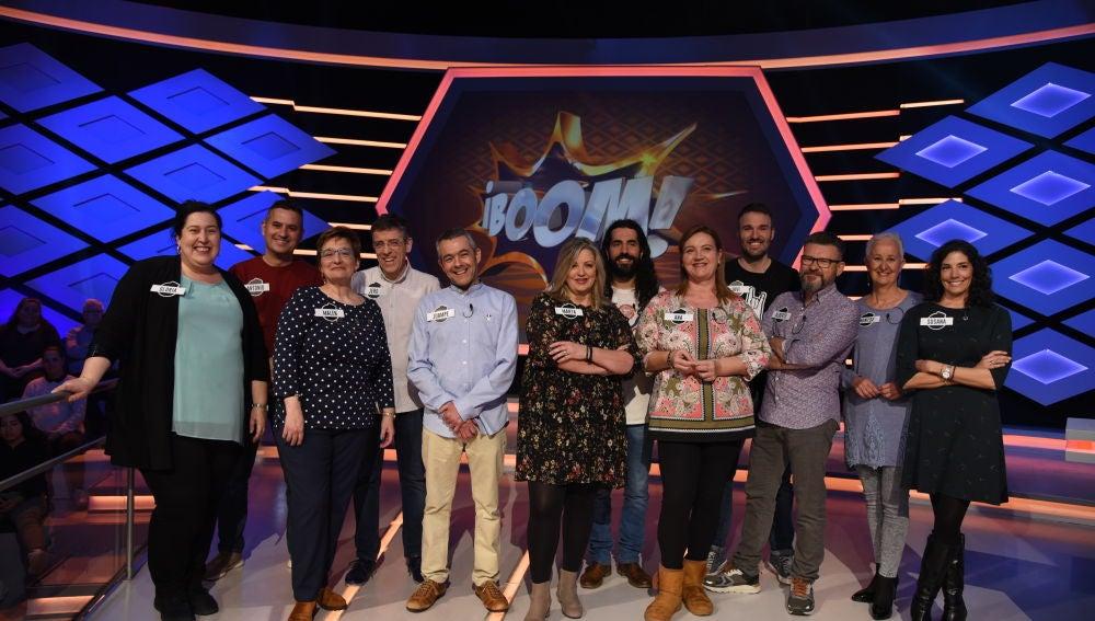 Esta semana los mejores concursantes de '¿Quién quiere ser millonario?' se enfrentan en un especial de '¡Boom!