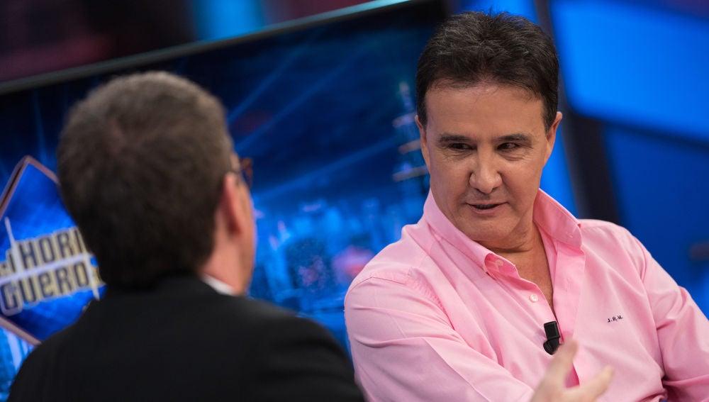 La dura pregunta de José Ramón de la Morena durante una entrevista a su hijo