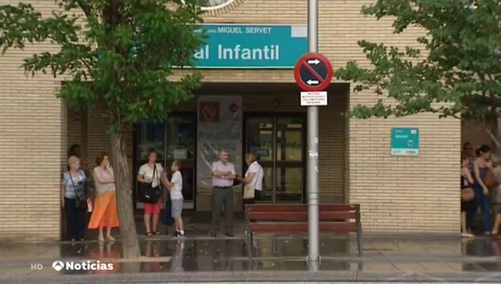 Una niña, grave tras caer a una piscina en Huesca