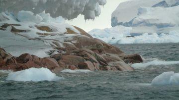 Descubren una isla oculta en la Antártida