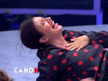 Silvia Abril sufre un ataque de risa ante una inesperada flatulencia