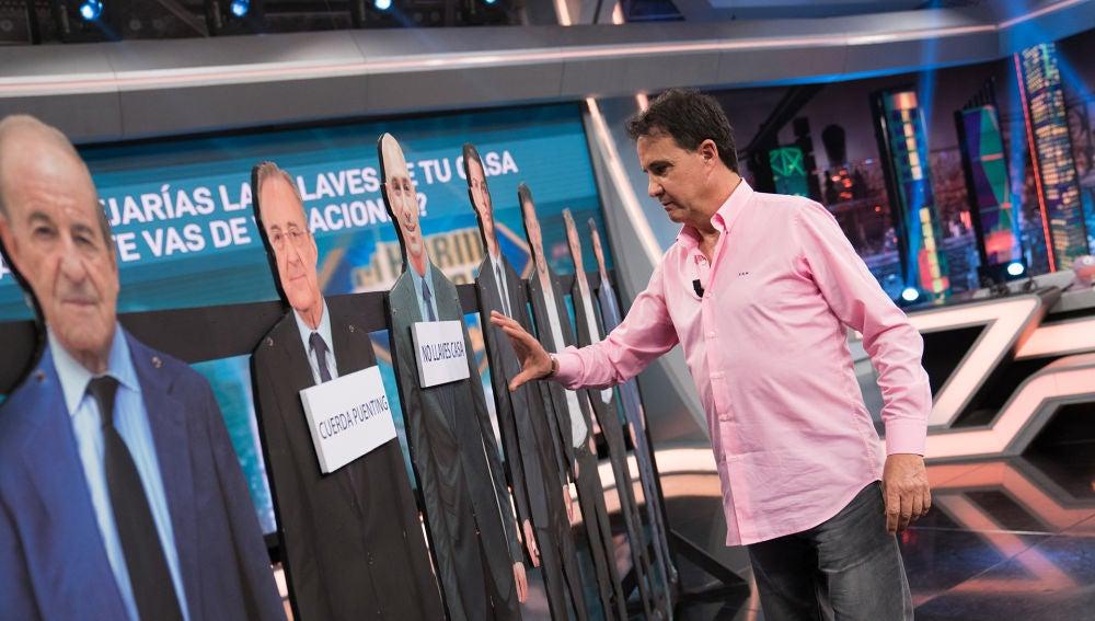 José Ramón de la Morena pasa por el test de '¿A quién elegirías?' de 'El Hormiguero 3.0'