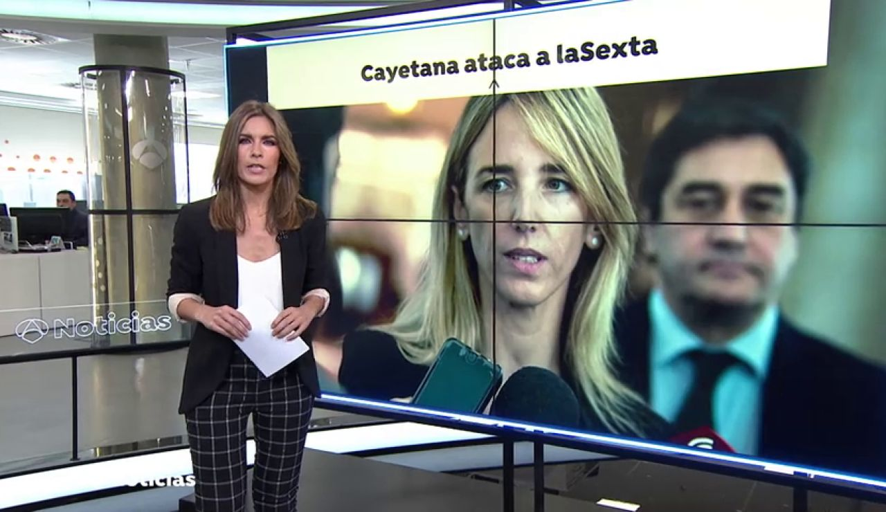 """Cayetana Álvarez de Toledo acusa a La Sexta de """"erosionar la democracia"""""""