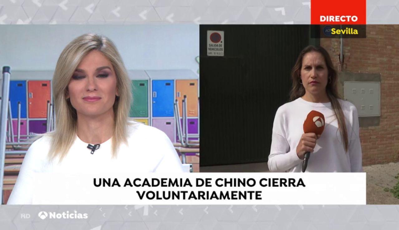 El 'colegio chino' de Sevilla cierra sus puertas por miedo a contagios de coronavirus
