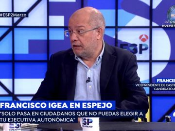 "Francisco Igea, sobre Inés Arrimadas: ""Ha pecado de exceso de soberbia"""