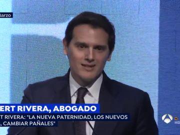 El abogado, Albert Rivera.