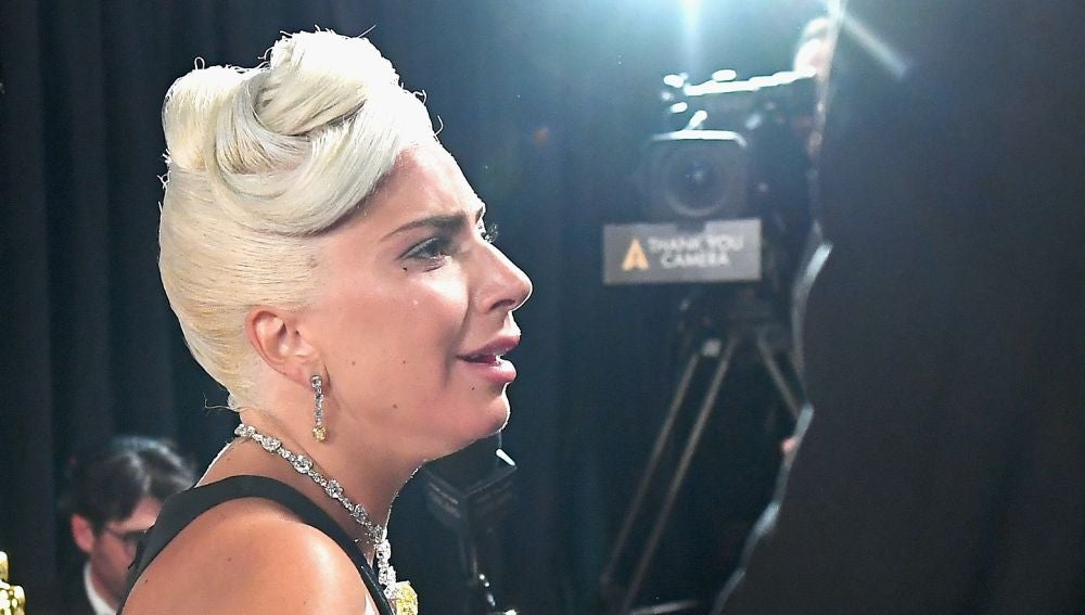 Lady Gaga tras ganar el Oscar por 'Shallow' de 'Ha nacido una estrella'