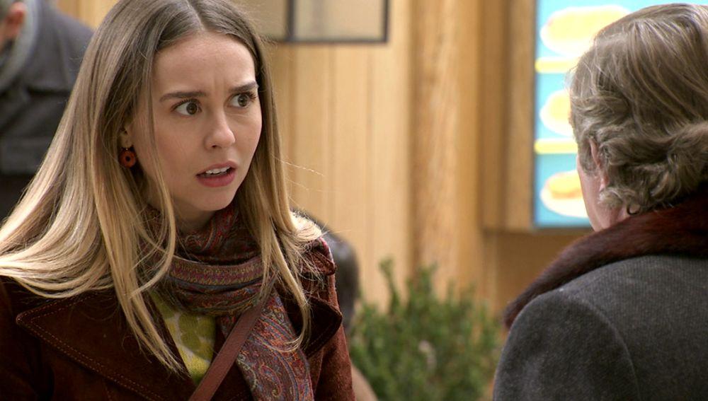 Luisita, destrozada al enterarse de que Sebas ha perdido su trabajo por recuperar su amor