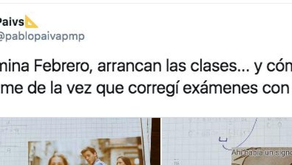 Pantallazo de un tuit de @pablopaivapmp