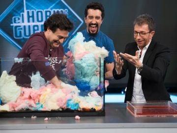 Marron descubre los secretos que guarda el algodón de azúcar en 'El Hormiguero 3.0'