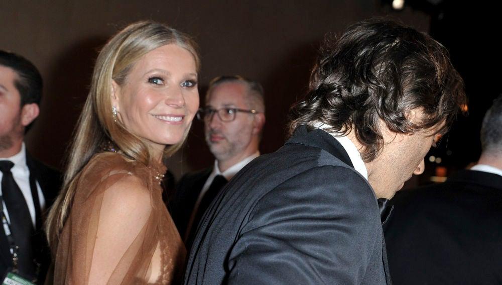 Gwyneth Paltrow y su marido Brad Falchuck