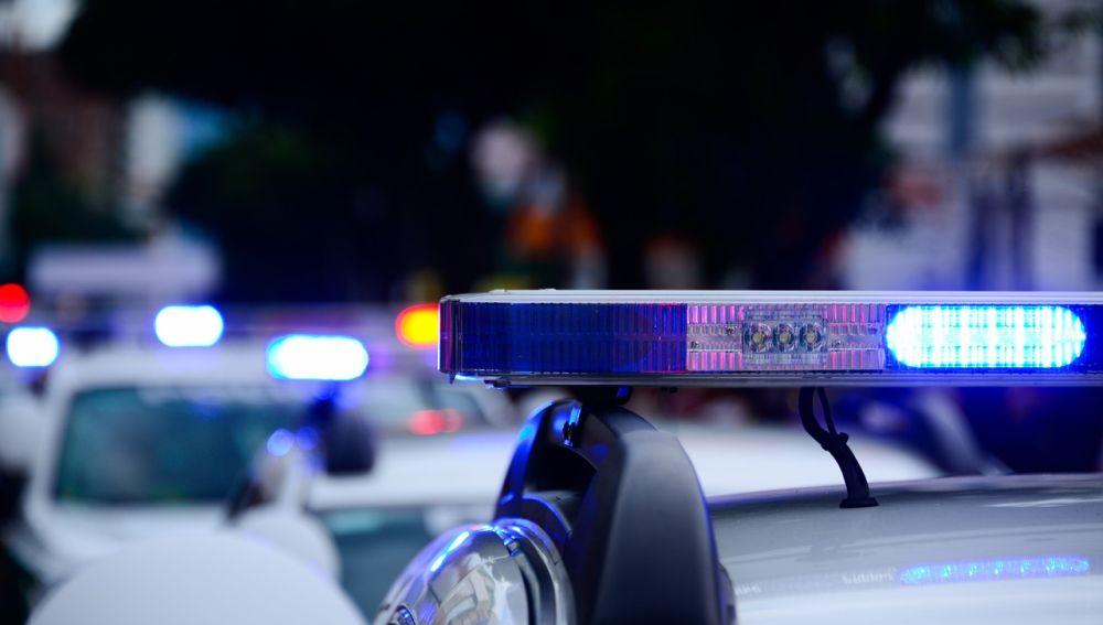 Varios coches de Policía