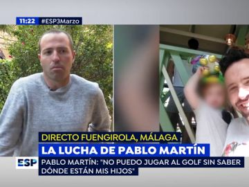 La lucha de Pablo Martín.