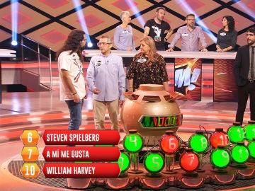 Las tres bombas que impiden que el equipo 'Hilando fino' consiga el bote en su primer programa de '¡Boom!'