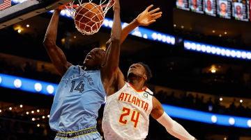 Imagen del partido de NBA entre Memphis Grizzlies y Atlanta Hawks