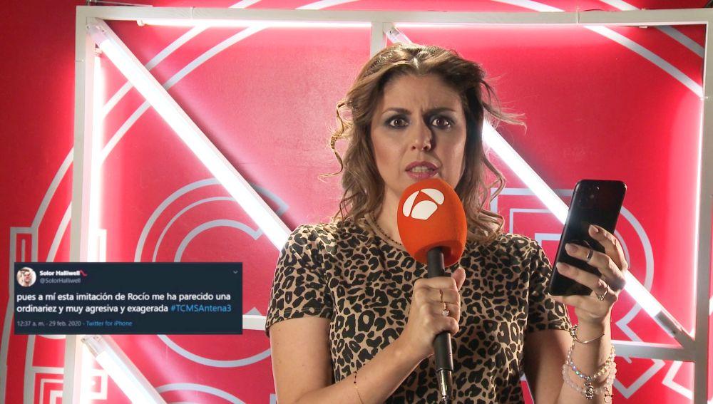 Cristina Ramos responde a los tuits sobre su imitación de Rocío Jurado y lanza un sincero mensaje