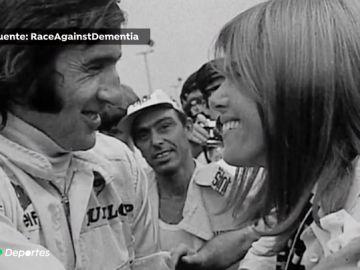 """Helen, esposa del expiloto Jackie Stewart, padece demencia senil: """"Ella quiere un abrazo, quiere un beso, solo quiere que la abracen"""""""