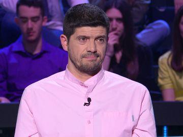 El dilema de Manu Zapata con Cervantes para llegar a los 20.000 euros de '¿Quién quiere ser millonario?'