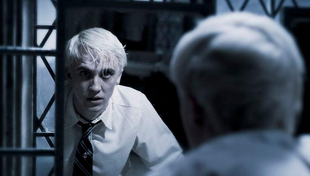 Tom Felton como Draco Malfoy en 'Harry Potter'