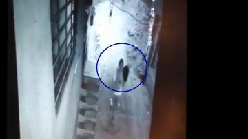 Captura del vídeo de la cámara de seguridad de Independencia