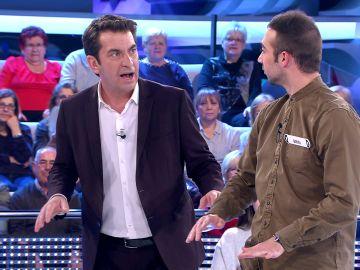 Arturo Valls y Brin impresionan realizando el 'bucle mortal' en '¡Ahora caigo!'