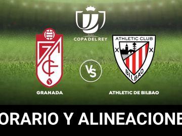 Granada - Athletic de Bilbao: Horario, alineaciones y dónde ver el partido de la Copa del Rey en directo